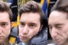 Jared Michael Selfie is memorable courtesy of train engineer