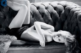 Natalie Dormer topless for GQ. Actresses as sex objects.