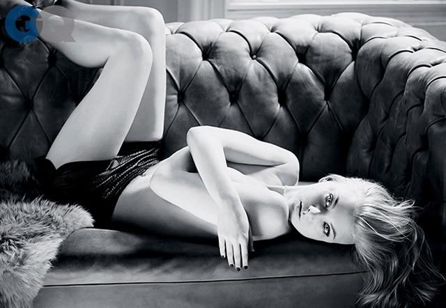 Natalie Dormer topless for GQ