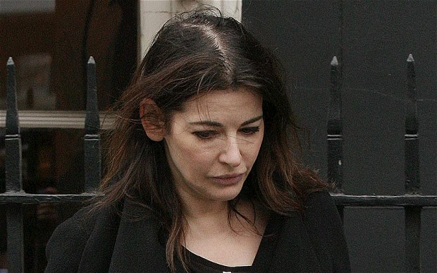 Nigella Lawson drug test
