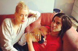 Peaches Geldof found dead with 11 month old son by her side.