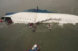 Why did the Vice Principal of South Korea school ferry disaster commit suicide?