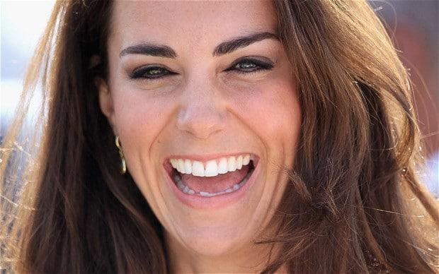 Kate Midddleton smile