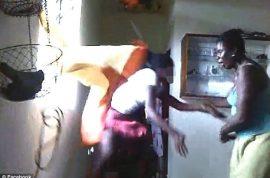 Helen Bartlett, Caribbean mother posts video of her beating daughter after semi nude selfie on Facebook.