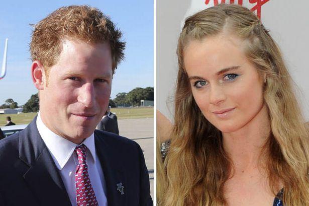 Prince Harry and Creside Bonas split