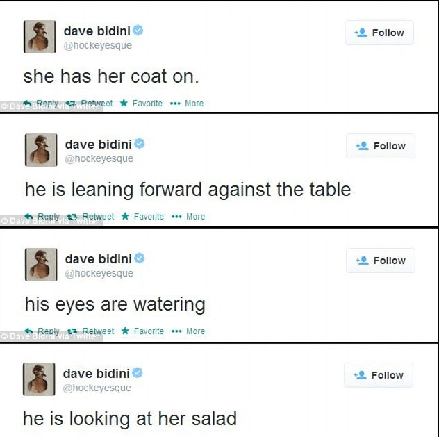 Dave Bidini tweets break up
