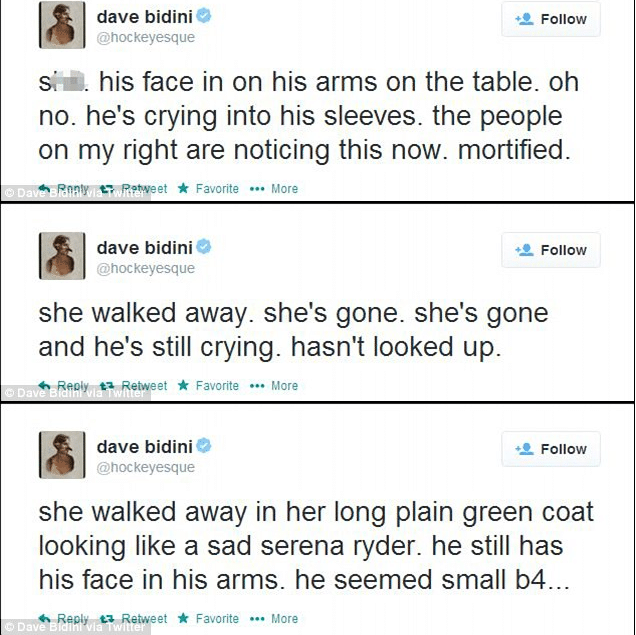 Dave Bidini tweets break up