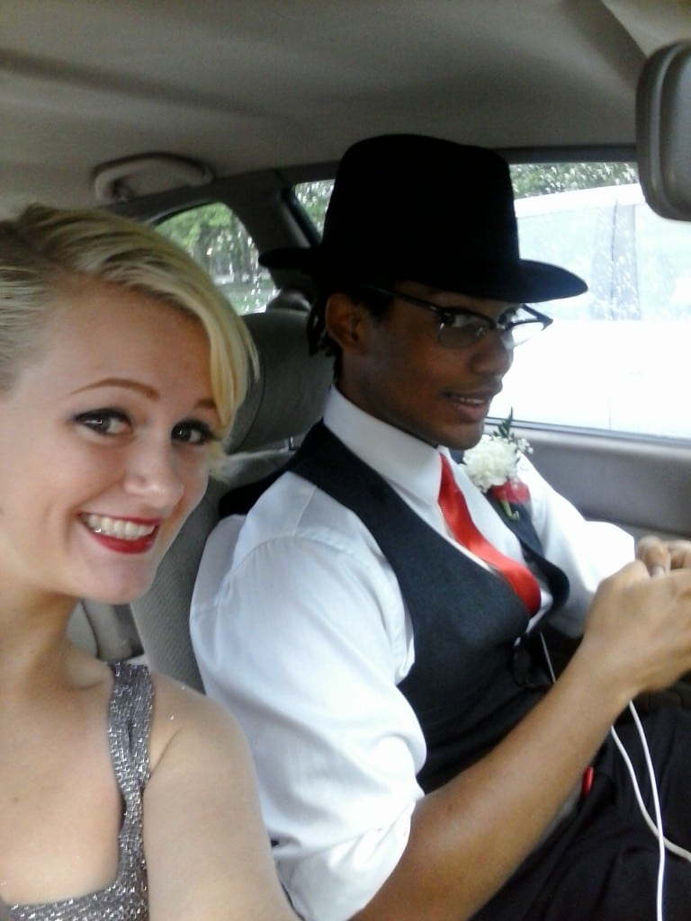 Bffs prom night sex in the limo - 3 part 7