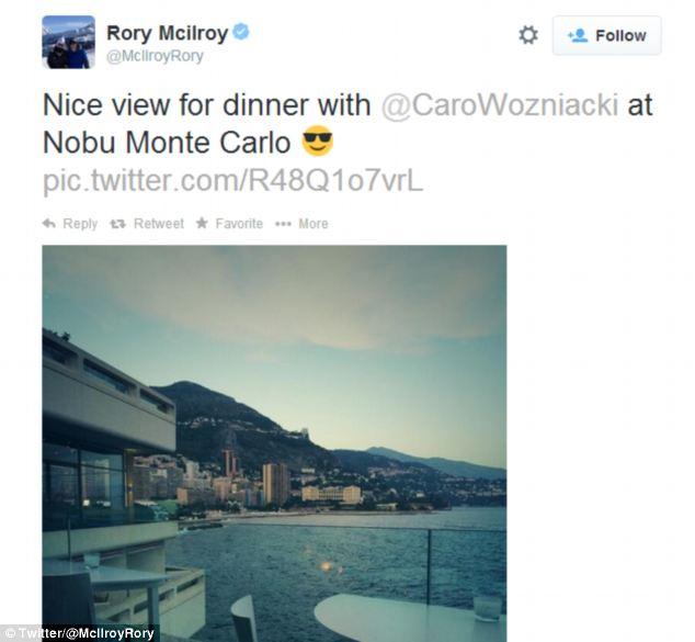 rory mcilroy caroline wozniacki