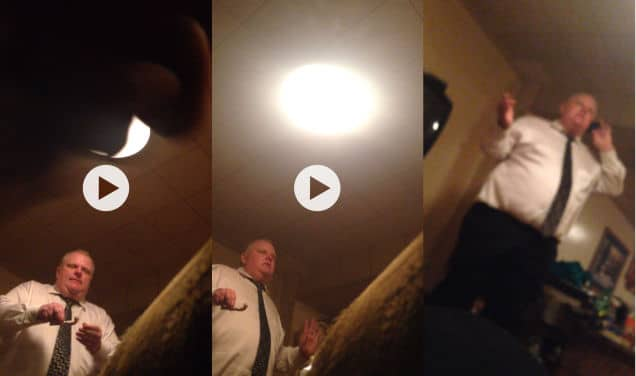 Mayor Rob Ford crack video