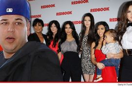 The Kardashian family is very mad at Rob Kardashian for being fat.