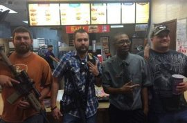 Jack in the Box staff lock selves in freezer after Open Carry Texas arrives heavily armed.