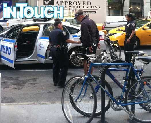 Alec Baldwin arrested for riding bicycle