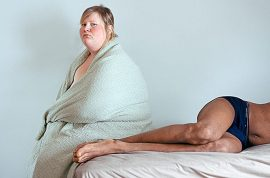 Jen Davis, overweight woman who spent 11 years loving her body hates herself…