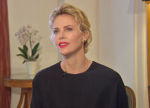 Charlize Theron 'I feel raped'