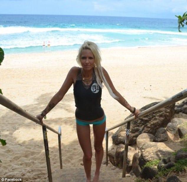 Jill Hansen, Hawaiian surf model
