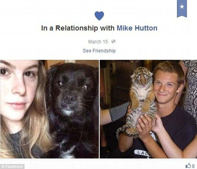 Michael Hutton beats his girlfriend
