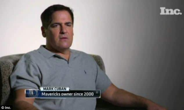 Dallas Mavericks' Mark Cuban