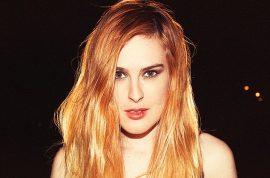 Rumer Willis fails with leotard photo shoot