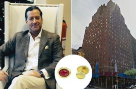Why did Robin Rotenier, jewelry designer jump out luxury high-rise apartment?