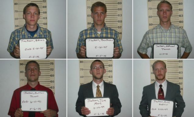 Six brothers arrested for sexually abusing sister from the age of four