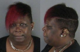 Bevalente Michette Hall arrested for placing nuisance 911 Subway marinara call.