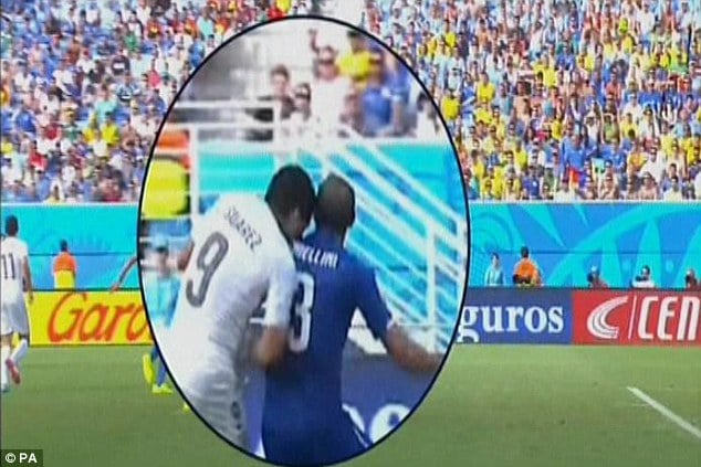 Luis Suarez, Uruguayan soccer star be suspended after biting Italian player