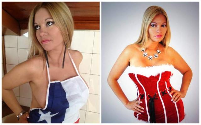 Chilean Porn star Marlen Doll