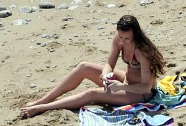 David Cameron's nanny naked