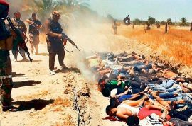(NSFW) Why is ISIS posting mass killings of Iraqi soldiers?