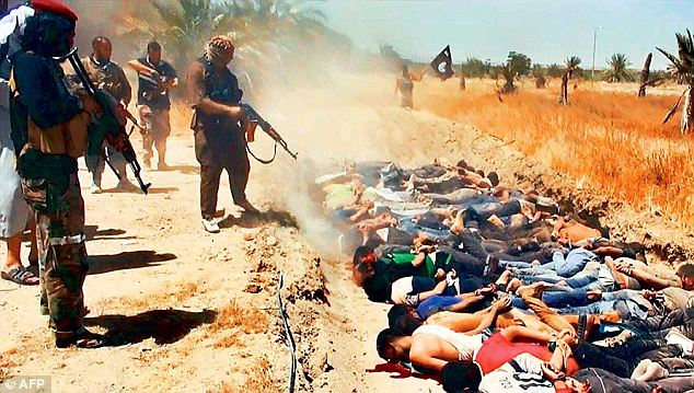 ISIS posting mass killings of Iraqi soldiers