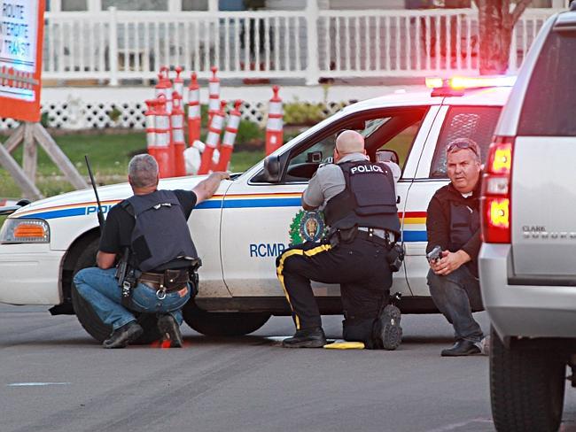 Justin Bourque manhunt
