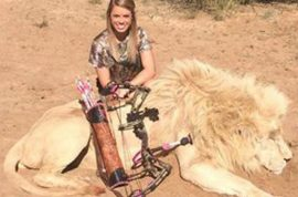 Kendall Jones teenage hunter is despised after posting happy pictures of dead animals