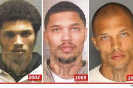 Jeremy Meeks Mug Shots: He looks so damn ugly