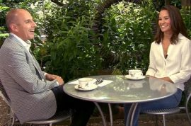 Pippa Middleton explains to Matt Lauer what it's like to be a well to do socialite