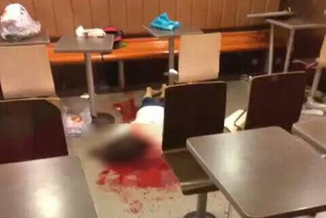 Chinese woman beaten to death with iron bar at McDonald's