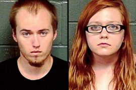 Brendan Johnson and Cassandra Rieb, teen couple strangle grandparents so they could inherit $20 000