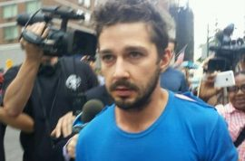 Shia LaBeouf reluctantly checks into rehab cause he knew he had to.