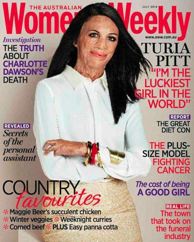 Australian Women's Weekly Turia Pitt