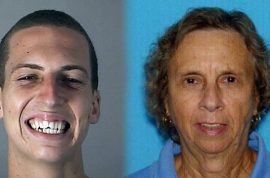 Why did Brandon Machetto kill his grandmother, nudist colony member?