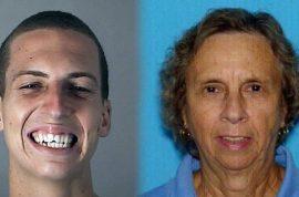 Why did Brandon Machetto kill his grandmother, nudist colony member?