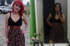 Violet Burkhart's sent home for dressing too slutty. Mother follows suit.