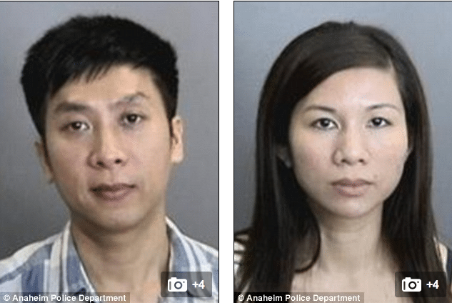 Parents arrested after 11 year old autistic son found living in a cag