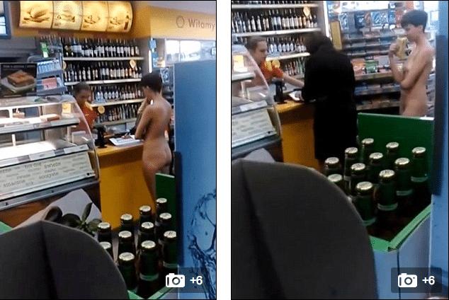 Naked Polish shopper