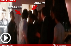 Orlando Bloom takes swing at Justin Bieber at Ibiza club. Did Biebs date Miranda Kerr?