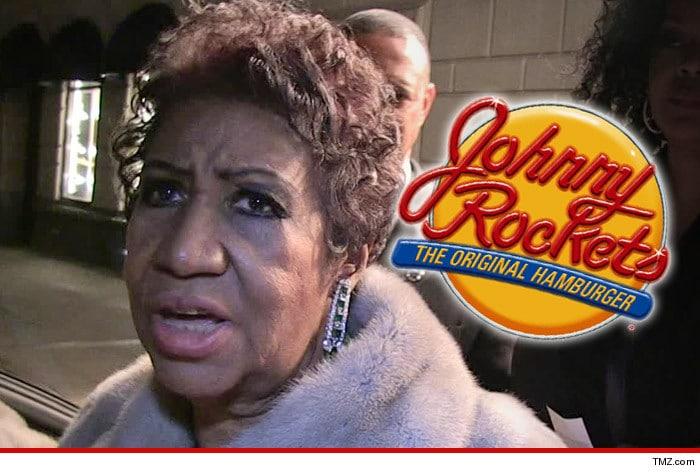 Aretha Franklin Johnny Rockets