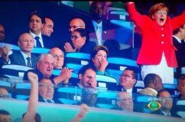 German Chancellor Angela Merkel World Cup pictures. Beloved fan.