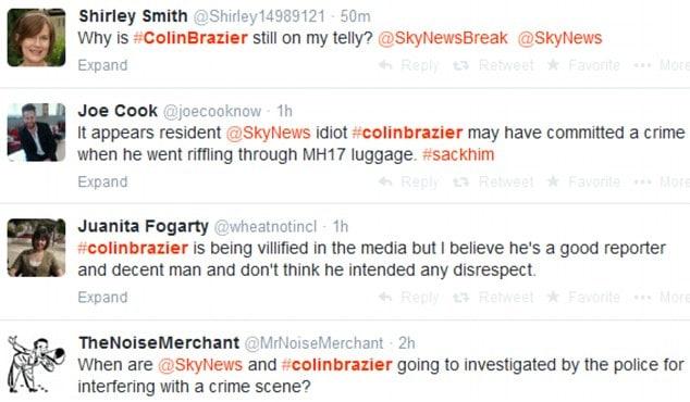 Colin Brazier MH17 victim's luggage