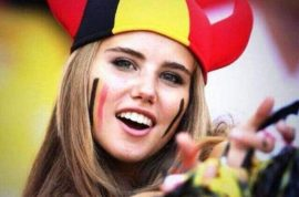 Pictures: Axelle Despiegelaere, Belgian world cup fan wins L'Oreal modeling contract