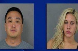 Michael Suh and Nicole Germack arrested for having sex on Chipolte roof